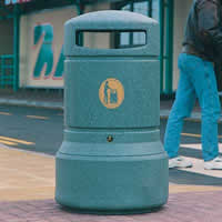 Glasdon UK: Plaza® Litter Bin