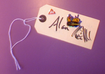 Alan's tag