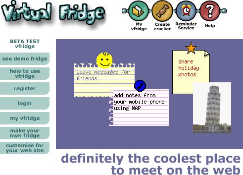 vfridge front page