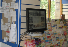 Wray vllage shop photo display
